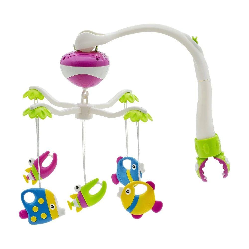 Mobile Musical Giratório Para Berço / Brinquedo Para Berço