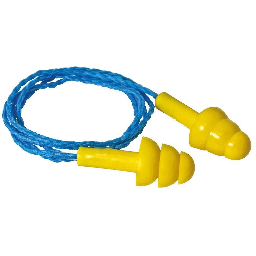 Protetor Auricular Copolímero Cordão Algodão 12Db