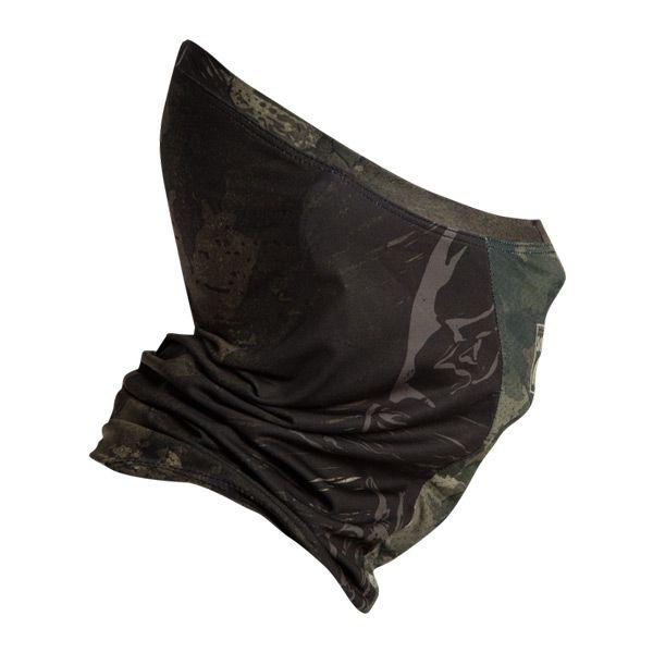 BANDANA TUBE BLACK MASK BRK REF011 MILITARY MAN