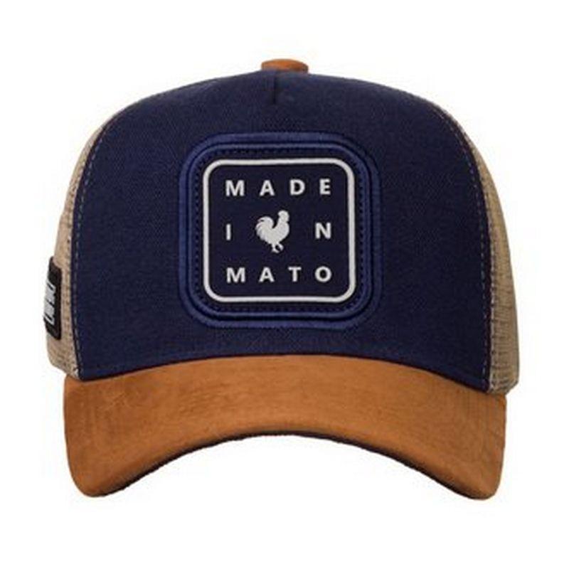 BONE MADE IN MATO TRUCKER ICON MARINHO