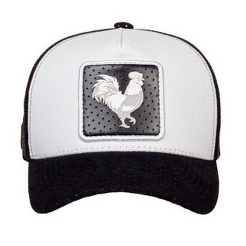 BONE MADE IN MATO TRUCKER ROOSTER PRETO