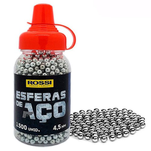 ESFERA AÇO ROSSI 4,5MM C/1500