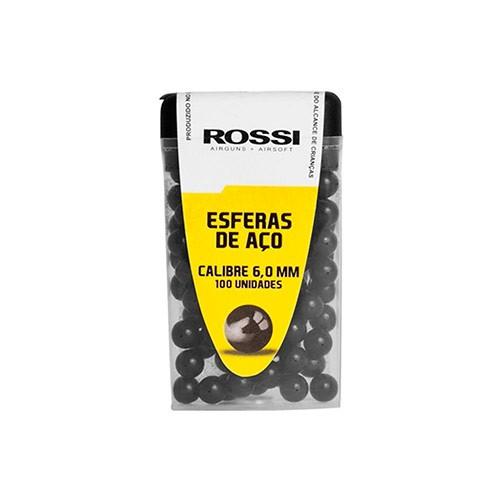 ESFERA AÇO ROSSI 6,0MM C/100
