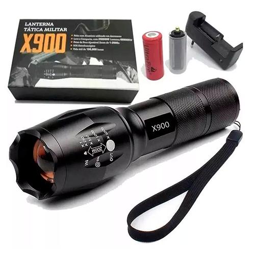 LANTERNA LED X900 T6
