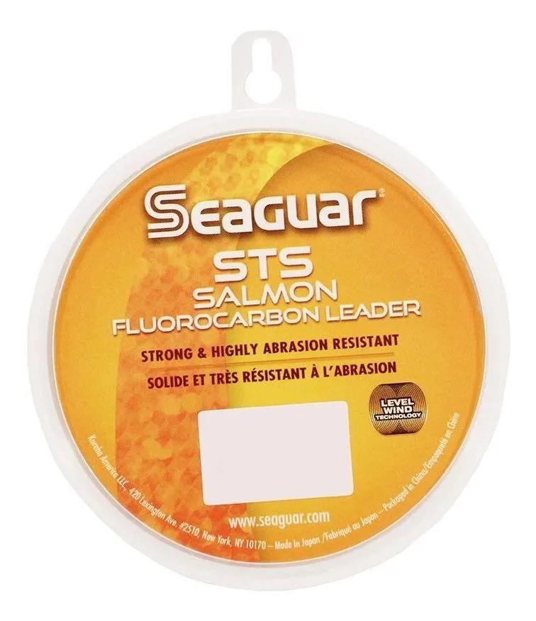LINHA LEADER SEAGUAR FLUORC. SALMON 20LB 0,40MM 91,6MT