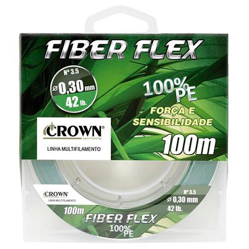 LINHA MULTI CROWN FIBER FLEX 4X 100MTS