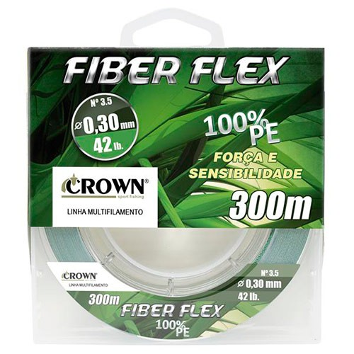 LINHA MULTI CROWN FIBER FLEX 4X 300M