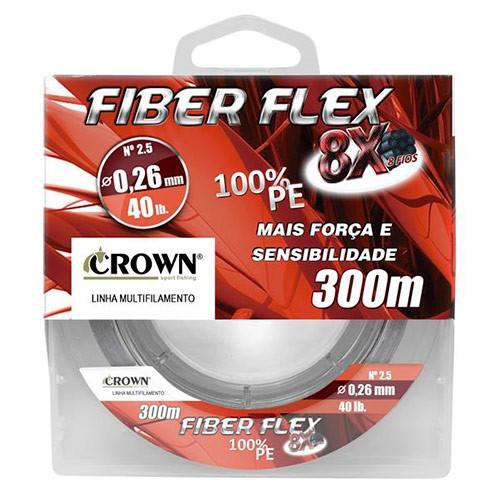 LINHA MULTI CROWN FIBER FLEX 8X 300MTS