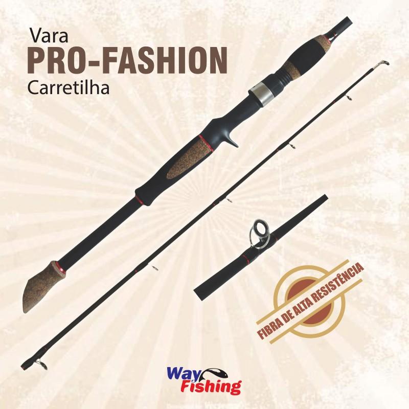 VARA WF PRO FASHION P/ CARRETILHA