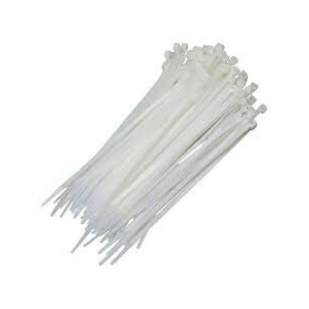 Abraçadeira Plástico Médio Branco Importado Bra14-6-2