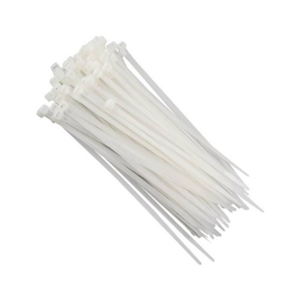 Abraçadeira Plástico Pequena Branca Bra14-6-3