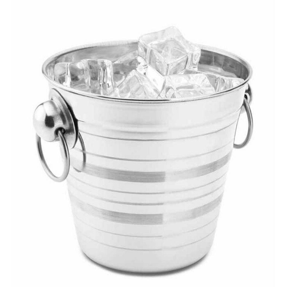 Balde Gelo Ferro 20,5 Cm Importado Bra14-34-1