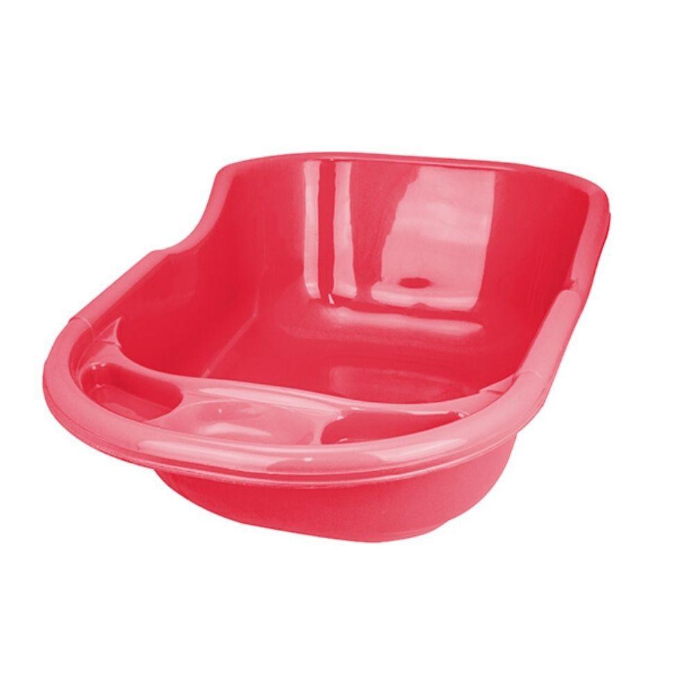 Banheira Infantil Grande Rosa 35 Litros Arqplast 25559