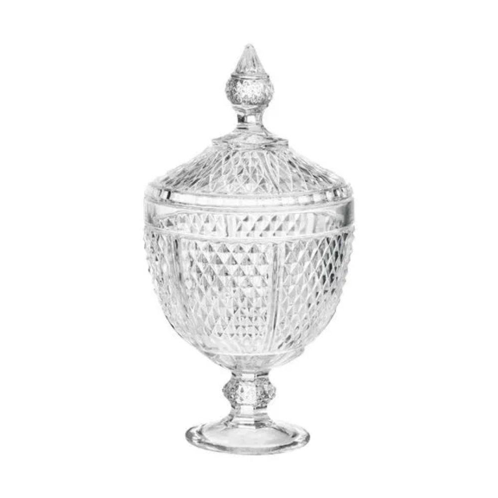 Bomboniere Vidro Cristal Perseu Lyor 28 Cm 6648