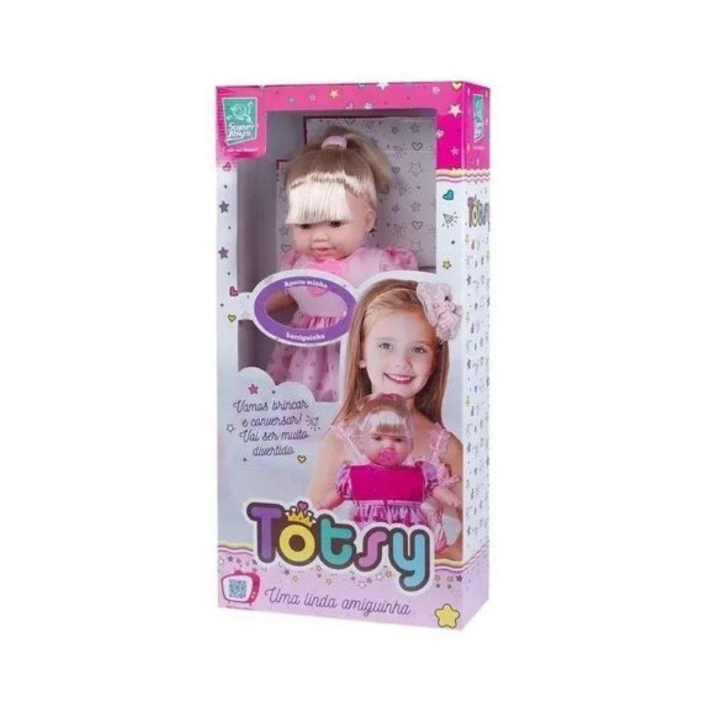 Boneca 113 Frases Com Cabelo Super Toys Totsy 331