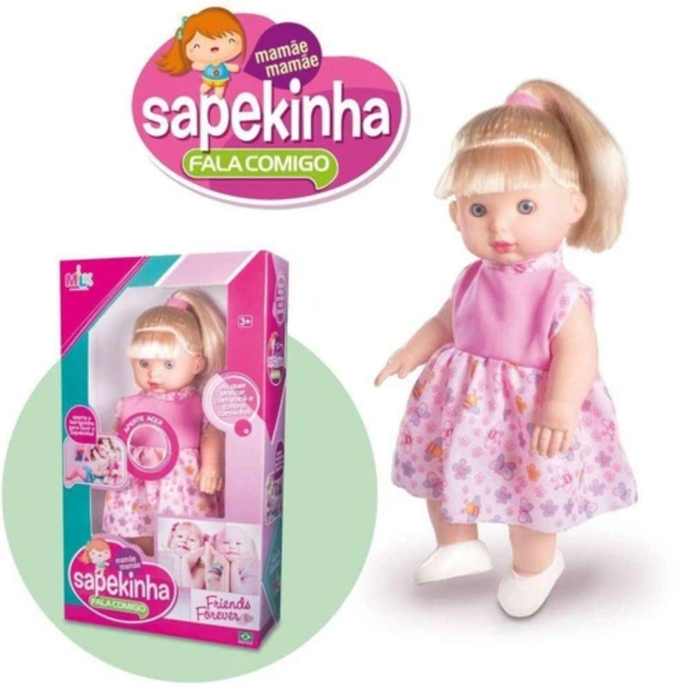 Boneca Fala Comigo Milk Sapekinha 366