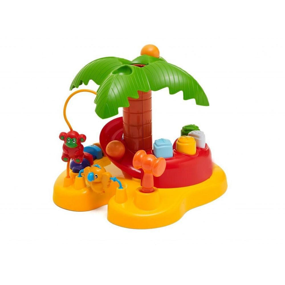 Brinquedo Tateti Ilha Palmeira Didatico 0833