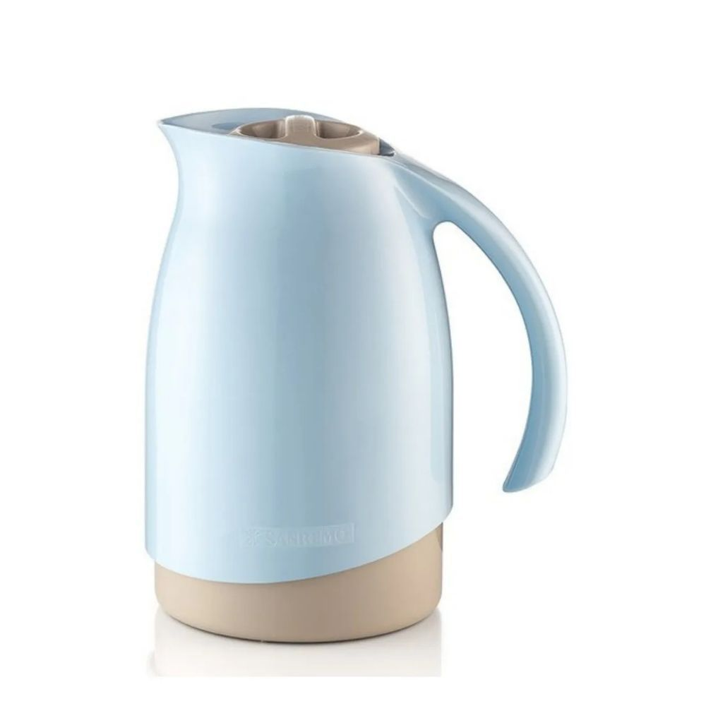 Bule Térmico Cuidar Azul/Bege 700Ml Sanremo Sr1011/2