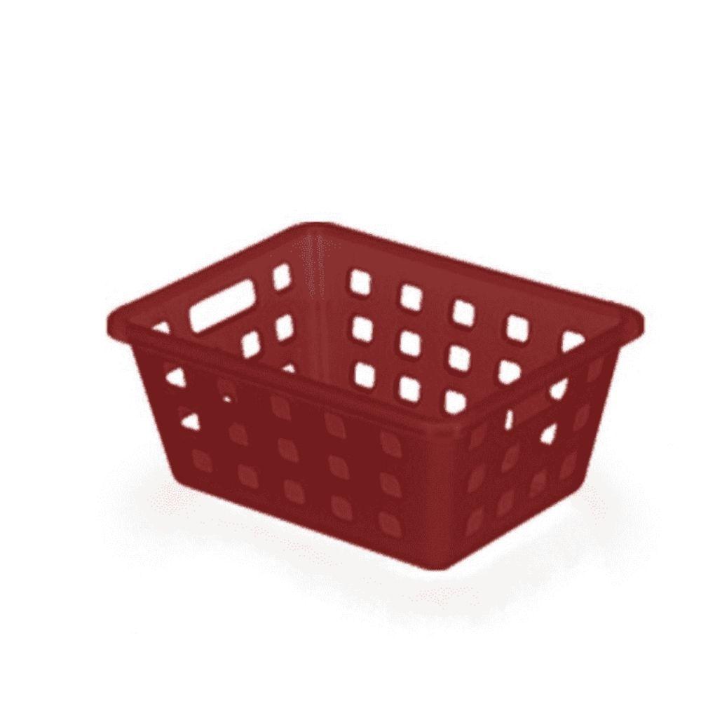 Caixa Organizadora Squares Arthi Vermelho 8226