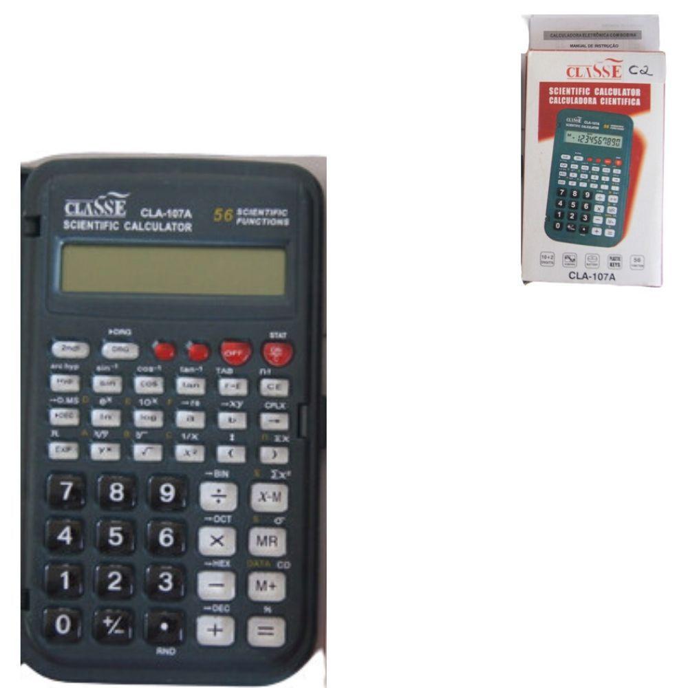 Calculadora Classe Cient 10Dig 107A