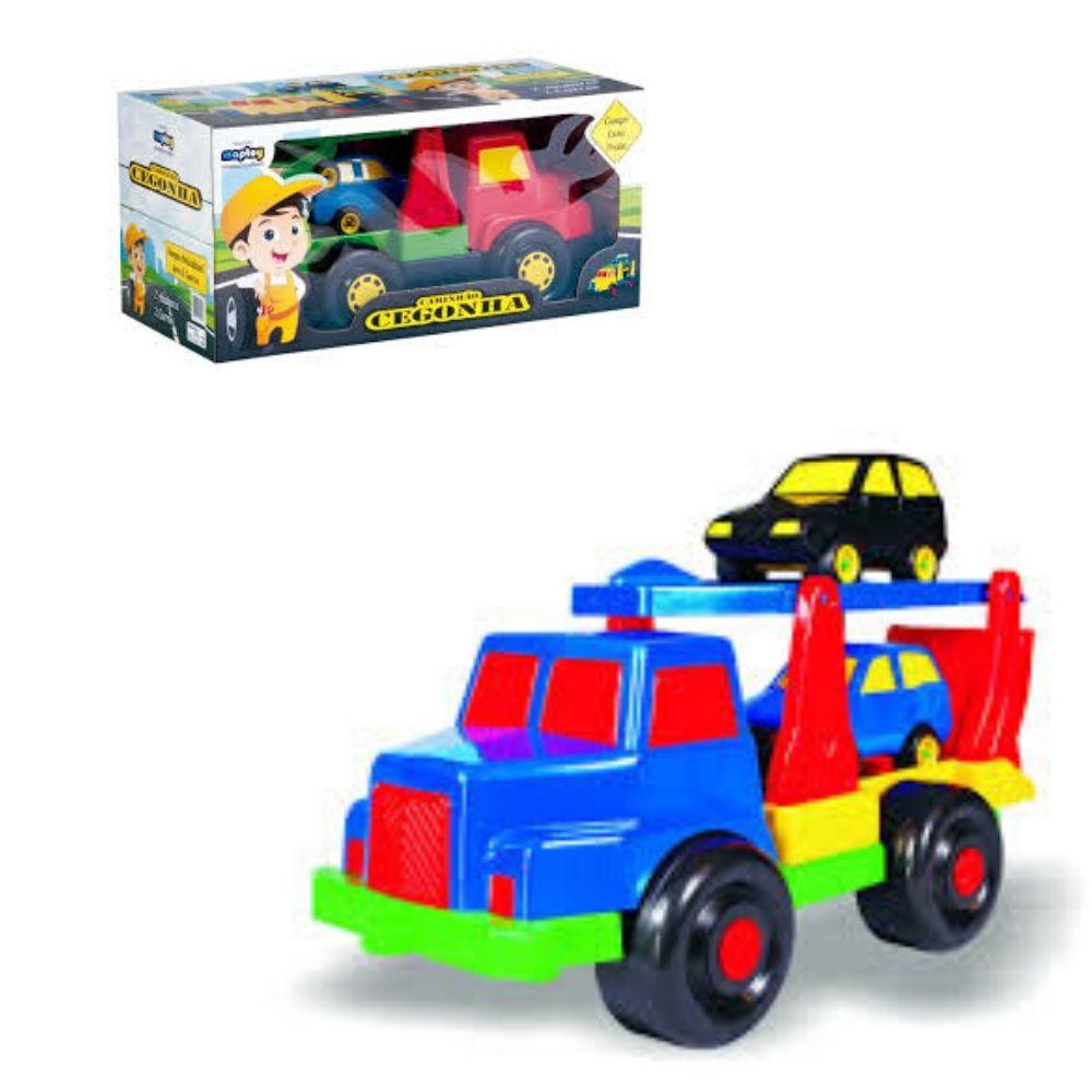 Caminhão Cegonha Rampa Articulavel Maptoy 220