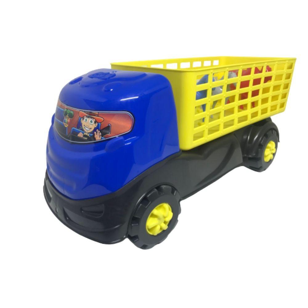 Caminhão Gg Brinquedo Boiadeiro Deko 187