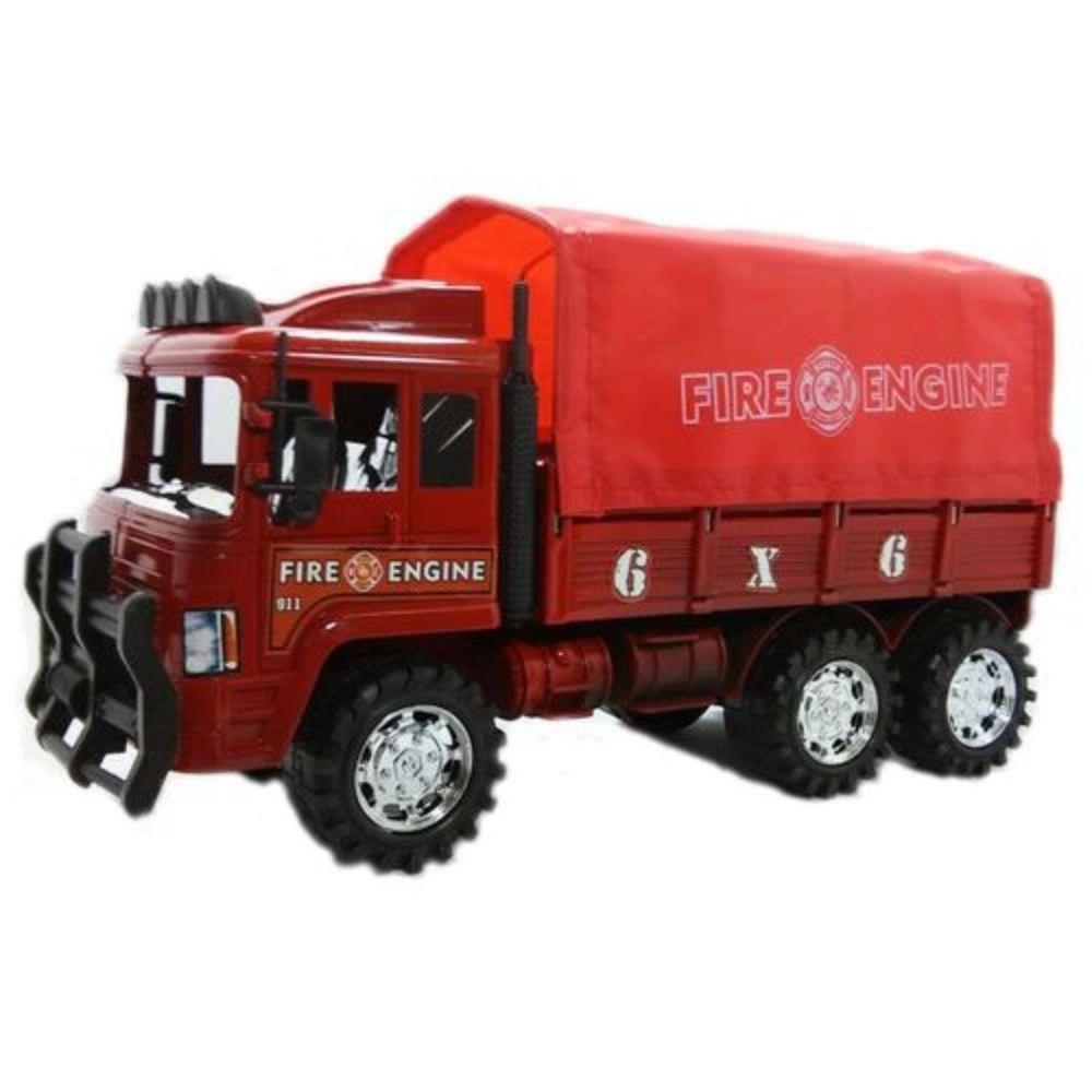 Caminhão Bombeiro Fricção Jr Toys 0054