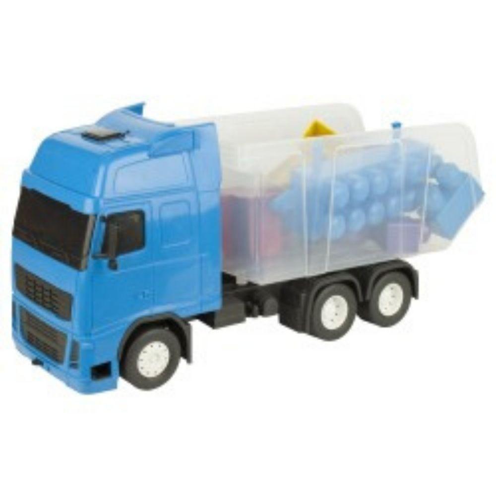 Caminhão Matrix Caçamba Blocos Montar 14 Peças 1211Pa