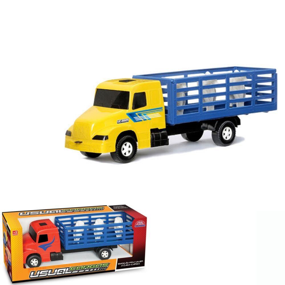 Caminhão Plástico Boizão Express Usual 101