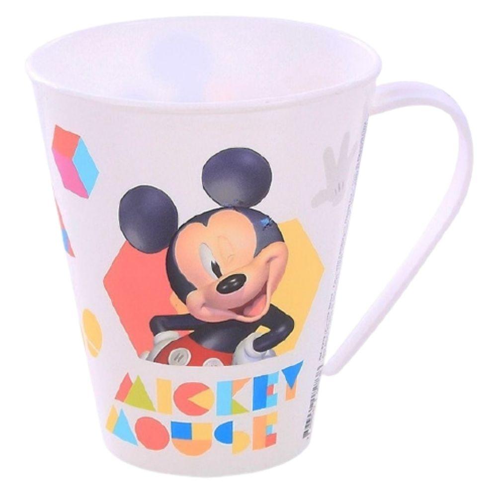 Caneca Decorada Mickey 360 Ml Plasútil 8273
