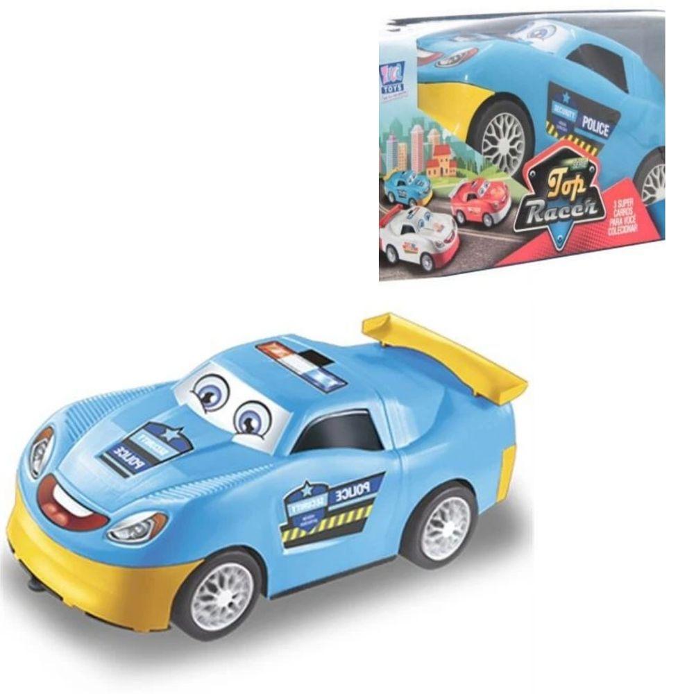 Carro Zuca Toys Top Racer Policia Solapa 12505801