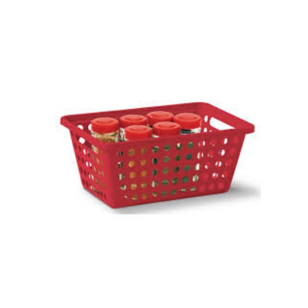 Cesta Organizador Vermelho N 2 Niquelart 356-5