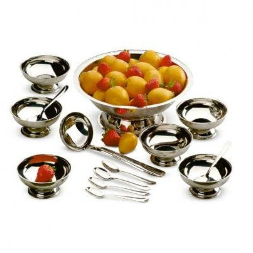 Conjunto Sobremesa Mega Inox 14 Peças 7015