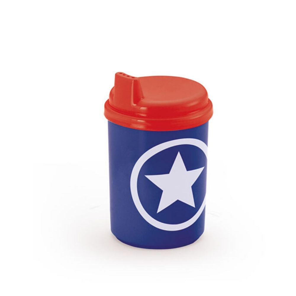 Copo Baby Decorado Capitão America 240Ml Injetemp 9670