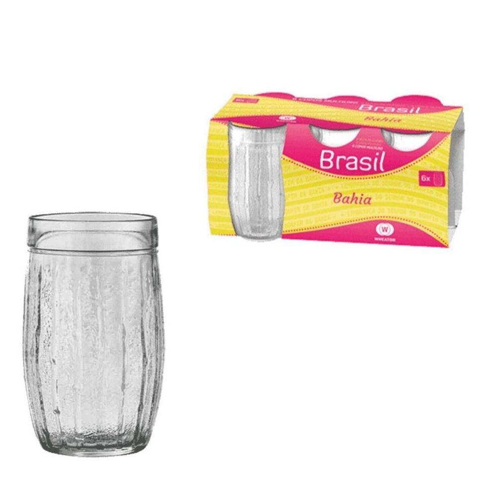 Copo Wheaton Bahia Brasil 6Peças 0602
