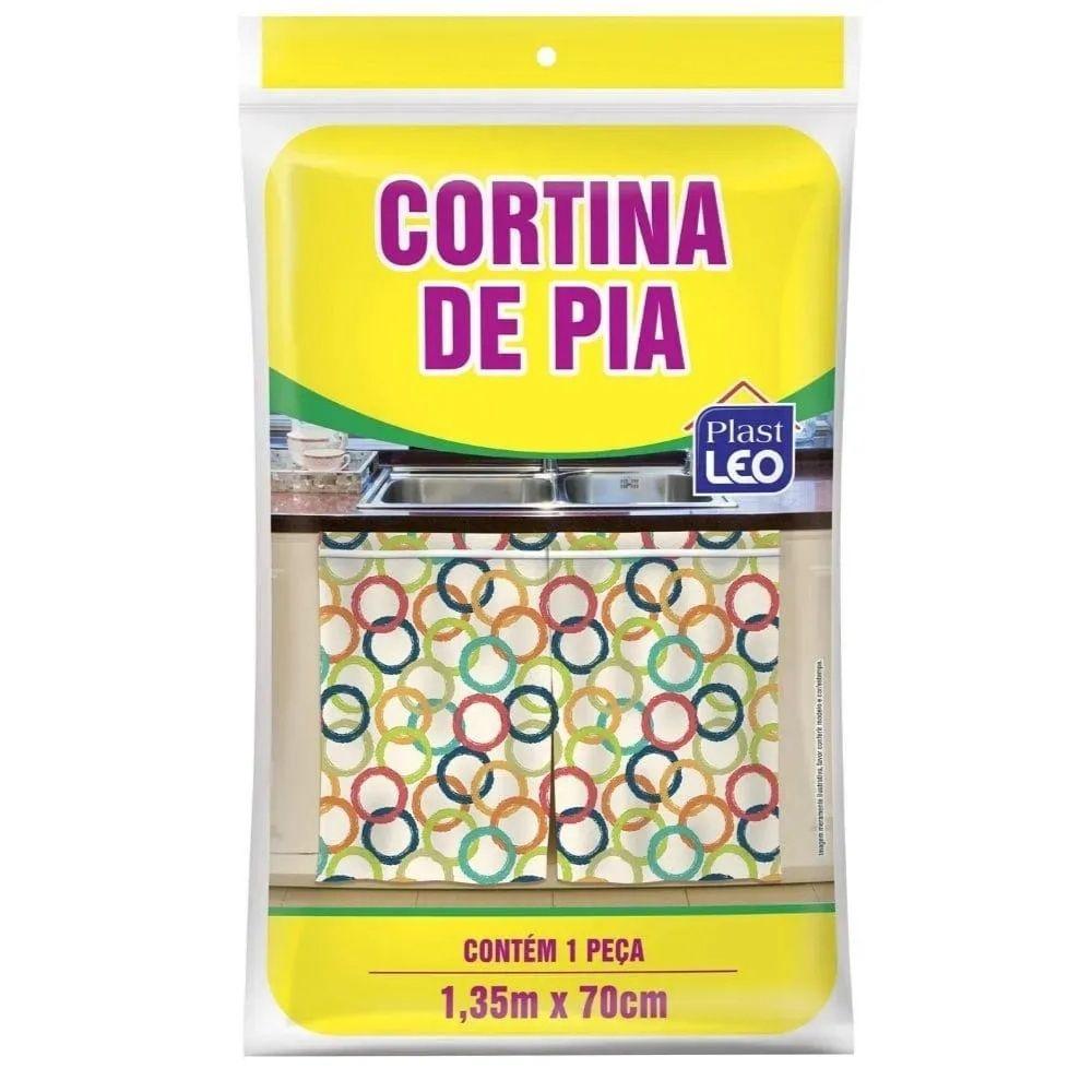 Cortina Pia 1,35X70Cm Plastleo 916