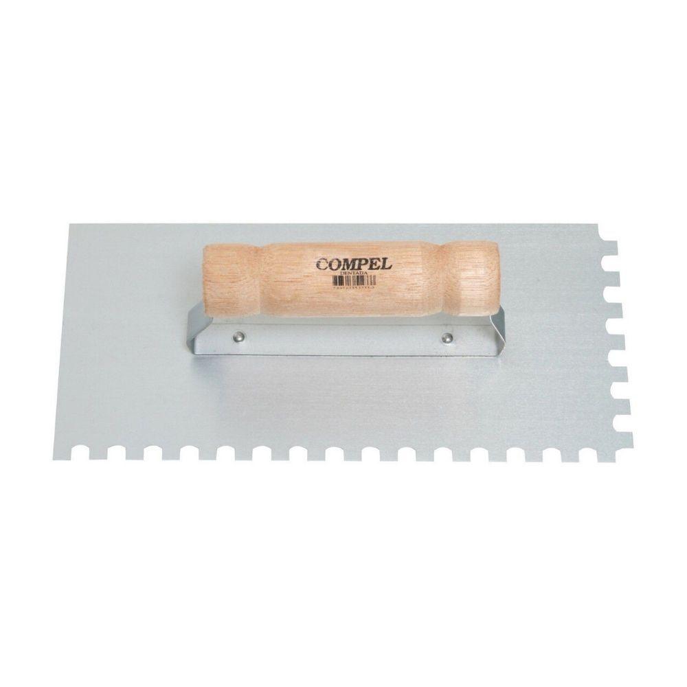 Desempenadeira Compel Aço Dentada 2401