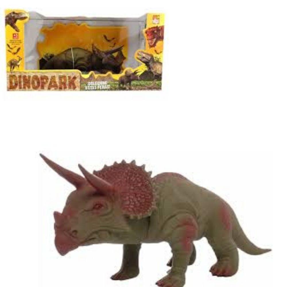 Dinossauro Triceratops Grande Bee Toys 0611