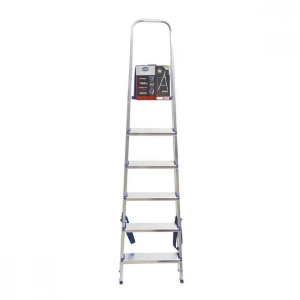 Escada Mor Aluminio 6 Degraus 1.78M 5104