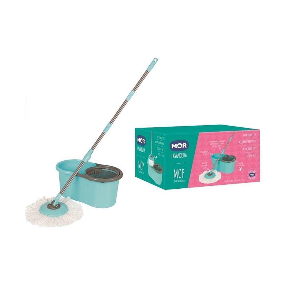 Esfregão Mop Limpeza Prática Mor 008298