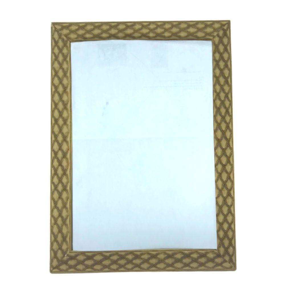 Espelho Emoldurado Luxo Molduleo 20X30 34