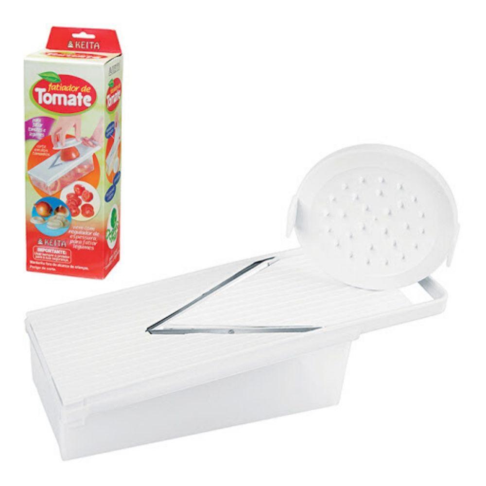 Fatiador Tomate Com Recipiente Coletor Tm01 Keita