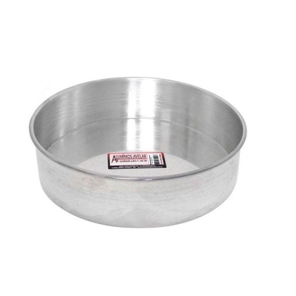 Forma Avelar Torta Alta Alumínio N22