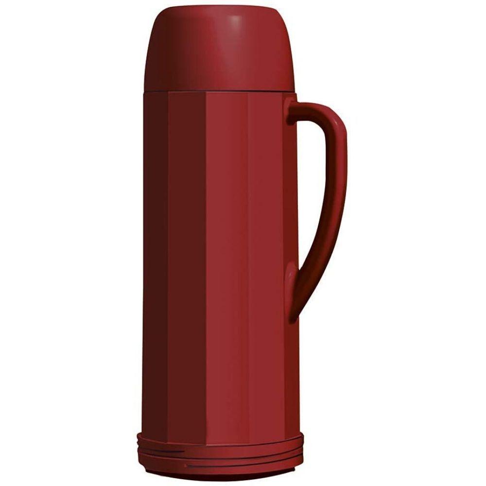 Garrafa Térmico Eureka Vermelho 1 Litro 101100051808 Invicta