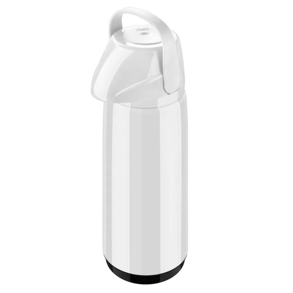 Garrafa Térmica Air Pot Pp Slim Branca 1,8 Litros Invicta 100200010107