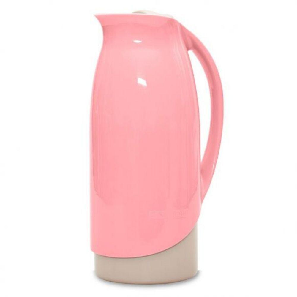 Garrafa Térmica Celebrar Rosa 1 Litro Sanremo Sr1002/3