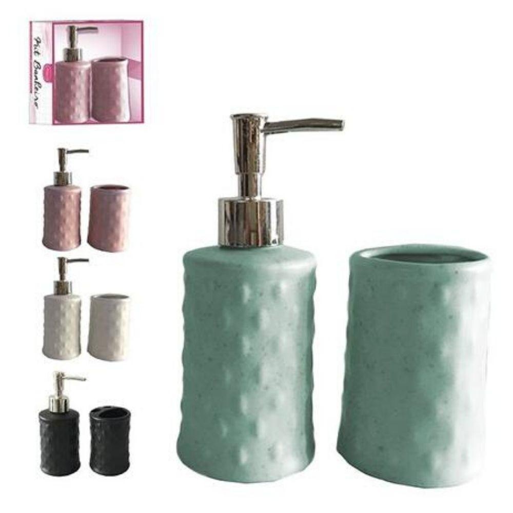 Kit Banheiro Cerâmica 2 Peças Art House