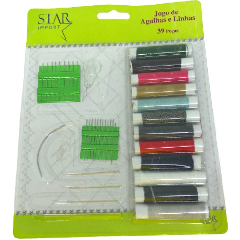 Kit Costura Import Star 39 Pcs 8771