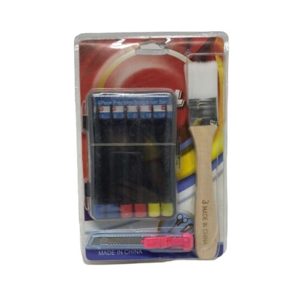 Kit Pincel Chave Estilete Ref Hh3