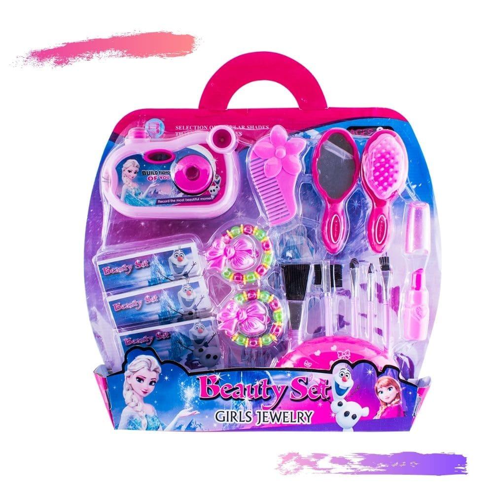 Kit Maquiagem Importada Frozen 15Pçs A546